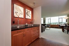 Built-in cabinetry by Salmon Bay Woodworks, Seattle, WA