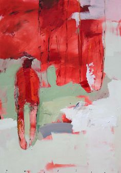 Chris  Gwaltney - Chris Gwaltney at Seager Gray Gallery showing Three Generations an abstract figurative oil painting.