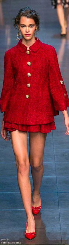 Dolce Gabbana ~ Spring 2014 RTW