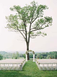 Allison and Greg's Rustic and Elegant Formal Wedding by Megan Schmitz Photography | Wedding Sparrow