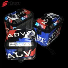 3 x Pannier Boxes Storm R1250 750 850 R1200GS ADV Protector Cover Stic – sooydoor Gs 1200 Adventure, Decal, Sticker, Boxes, Bmw, Design, Crates, Stickers