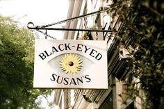 Black-eyed Susan's for breakfast---Nantucket.