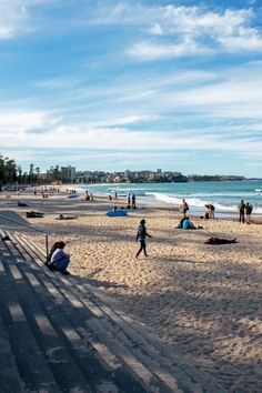 Manly Beach situated among de Northern Beaches of Sydney, Manly, New South Wales_ East Australia