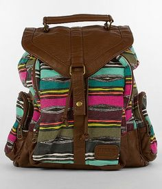 *** Cute. Need a bag like this for class. Small. Cute. Colorful. Good shape for books. Tired of carrying around a giant purse/bag with books in it. My left shoulder hurts all the time. But I don't have enough stuff for a giant backpack. Pockets would be nice too. Haha. ***
