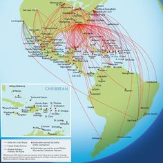Collection Delta Route Map Photos, - World Map Database on