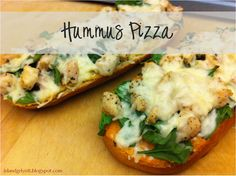 *It's A Wonderful Life*: Hummus Pizza