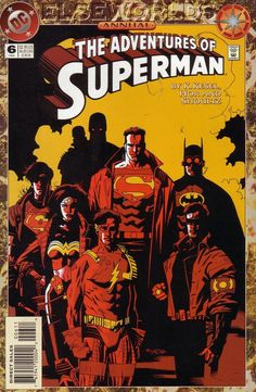 The adventures of Superman. Annual #6 by Mike Mignola