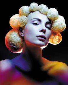 Collection: Avant Garde || Hair: Darren Ambrose || Photographer: Alex Cecchini || 2005