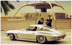 1963 Chevrolet Corvette.