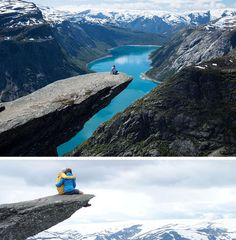 17 Tourist Activities That Would Be A Nightmare For People With A Fear Of Heights // Trolltunga Cliff – Odda, Norway