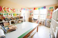 Workspace gallery | Project Based Homeschooling - A wonderfully inspiring post.