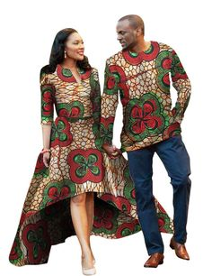 Men and Women African Traditional Clothes, Fashion Party Dress and Shirt, Various Colors-Men Kitenge Sets-LeStyleParfait. African Attire, African Wear, African Dress, African Style, Couples African Outfits, African Fashion Designers, African Fashion Ankara, Ghanaian Fashion, Traditional African Clothing