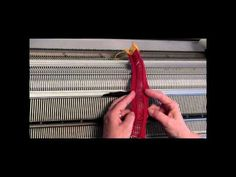 Passap Striped Scarf Part 2 - YouTube