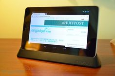 Nexus 7 dock has finally become available at The Google Play. $30 with a limit of 2. My father in-law has one of these android devices and loves it. They are great for the kids and people who want to use social networks and do some web surfing../engadget.com