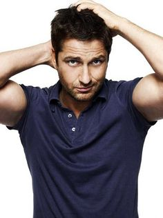Gerard Butler...ummm...ummmm....uhhhh...what was I saying?!