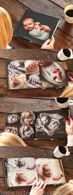 Tips for Creating the Perfect Baby Photo Book | Where The Smiles Have Been