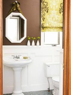 badezimmer waschbecken wandfarben brauntöne