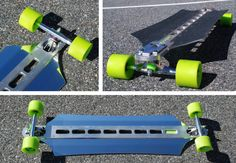 Cindrich Boards, Billet Aluminum Decks