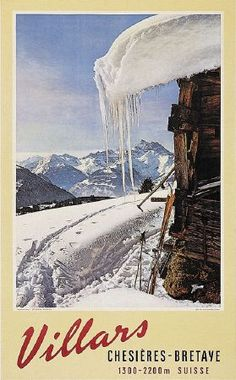 Old, original and vintage posters from skiing, mountain and winter sports Evian Les Bains, Vintage Ski Posters, Swiss Travel, Sports Posters, Ski Resorts, Lucerne, Paradis, Travel Posters, Switzerland
