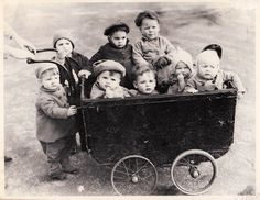 A cart load of ...toddlers