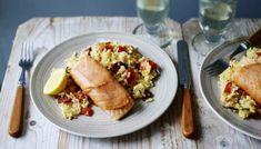 Salmon and monkfish skewers marinated in honey, rosemary and lemon recipe - BBC Food