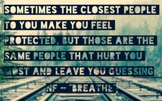 NF Breathe Quote