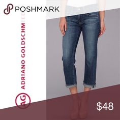 b1773da83a AG The Tomboy Crop Relaxed Straight Crop Jeans 28 See pictures for detail