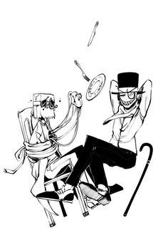 Black Hat and Flug New Yorker Mode, Dr Flug, Hat Organization, Villainous Cartoon, Bohemian Mode, Disney, Character Design, Artwork, Cartoons