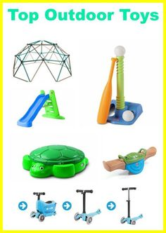 Top Outdoor Toys for Kids | The Chirping Moms Best Outdoor Toys, Pool Toys For Kids, Outdoor Activities For Toddlers, Outdoor Toys For Kids, Summer Activities For Kids, Kids Toys, Outdoor Play, Fun Activities, Backyard Toys