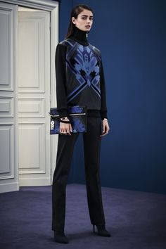 Look 2 Versace Autumn/Winter 2015 Pre-Fall Collection