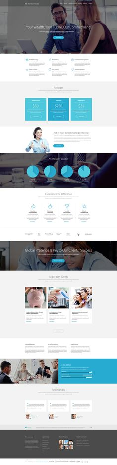 Morrison Invest WordPress theme is especially designed for Investment #Business, Law Firm or general corporate #website.