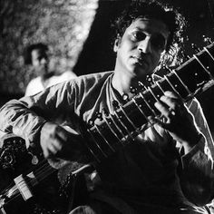 The late, great, musician Ravi Shankar is pictured here playing his Sitar in 1956. (Paul Schutzer—The LIFE Picture Collection/Getty Images) #LIFElegends #tbt