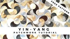 The template for the famous Yin-Yang pattern is here for you from Csoki-Folt. You can use the template in two techniques: simple/advanced. Patchwork Tutorial, Samurai Warrior, Free Coloring Pages, Various Artists, Yin Yang, Free Pattern, Templates, Make It Yourself, Quilts