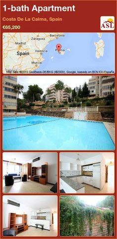 1-bath Apartment in Costa De La Calma, Spain ►€65,200 #PropertyForSaleInSpain