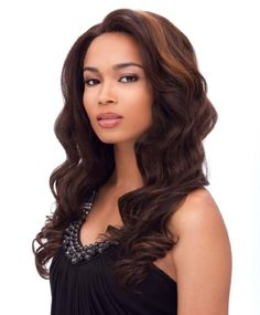 Sensationnel Synthetic Hair Empress Lace Front Wig - Giselle - Color: FS2/27 - Brought to you by Avarsha.com