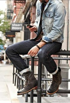 street-style-men-shoes-rolled-up-jeans like my pins? like my boards? follow me and I will follow you unconditionally and share you stuff if its pretty and cute :D http://www.pinterest.com/annareymodel/