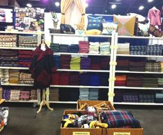 pendleton booth at sewing expo <3 love it.