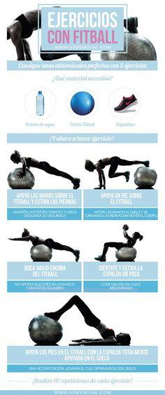 b29820c5a3 24 melhores imagens de Exercícios de bola suíça