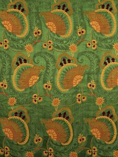 Scalamandre ANEMONE emerald green