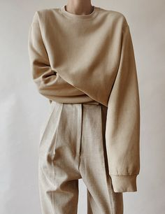 Beige Aesthetic, Aesthetic Fashion, Aesthetic Clothes, Stylish Outfits, Cute Outfits, Fashion Outfits, Womens Fashion, Normcore Fashion, Tokyo Street Fashion