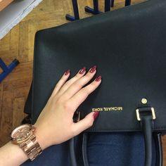 8558bab5c856 Michael Kors Large Hamilton Womens Leather Tote Handbag Cheap Michael Kors, Michael  Kors Bag,