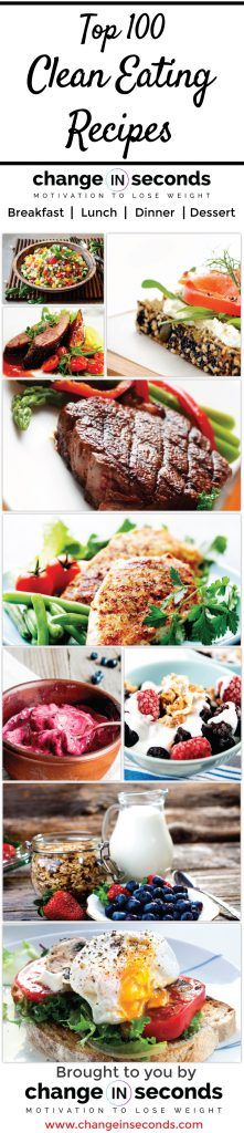 Top 100 Clean Eating Recipes