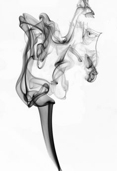 "ARTFINDER: Ginger by Carola Polakov - This series ""Smoke""  are photos of incense smoke. Because of my penchant for  pareidolia, (seeing things that are not there) I named them after the dancers t..."