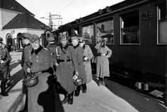 Oslo, 1940 - ww2 Norway