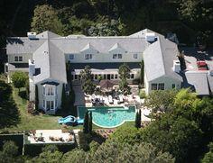 Salma Hayek & Francois-Henri Pinault's House in Bel Air, LA.