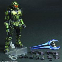 Halo Play Arts Kai Figure - Halo 2 Master Chief Anniversary Edition