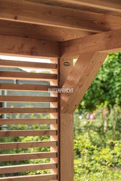 Gazebo Pergola, Garden Gazebo, Pergola Kits, Backyard Patio Designs, Backyard Fences, Garden Bar Shed, Modern Gazebo, Outdoor Shutters, Garden Cabins