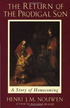 The Return of the Prodigal Son: A Story of Homecoming by Henri J. M. Nouwen, http://www.amazon.com/dp/0385473079/ref=cm_sw_r_pi_dp_s8xYqb0DQ0D71