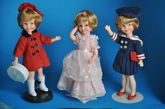 DELUXE TOPPER 1963 Penny Brite Dolls & Fashions Mint Heads FREE SHIPPING