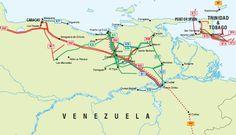 Las Mercedes, Trinidad And Tobago, Spain, Map, Venezuela, Caracas, Location Map, Maps, Spanish